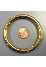 "2.5"" Solid Brass Ring"
