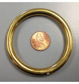 2.5 Solid Ring Brass