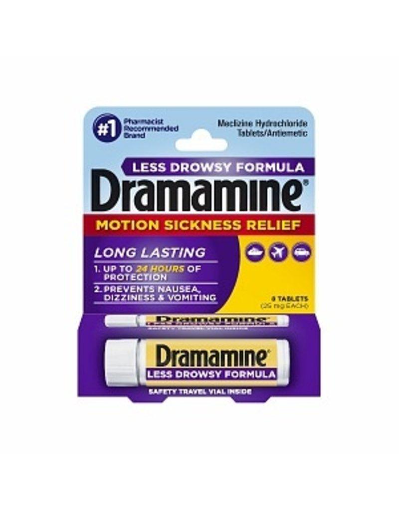 Dramamine Less Drowsy