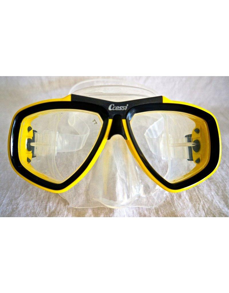 Cressi Cressi Focus Yellow Mask