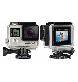 Features 1080p60 and 720p120 video, 12MP photos up to 30 frames per second, built-in Wi-Fi and Bluetooth®, and Protune™ for photos and video. Waterproof to 131' (40m). Built in touchscreen