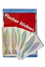 Flasher Sticker Fish (6 pack)