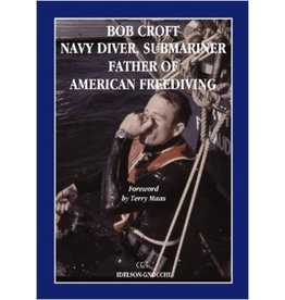 Bob Croft literally rewrote the book on deep breath- hold diving. At the time of his first record attempt, the U.S. Navy diving manual clearly stated that breath-hold diving below 120 feet could prove fatal. Despite this warning, Bob decided to test the l