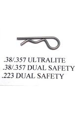 .38/.357 Ultralite Replacement Hairpin Clip