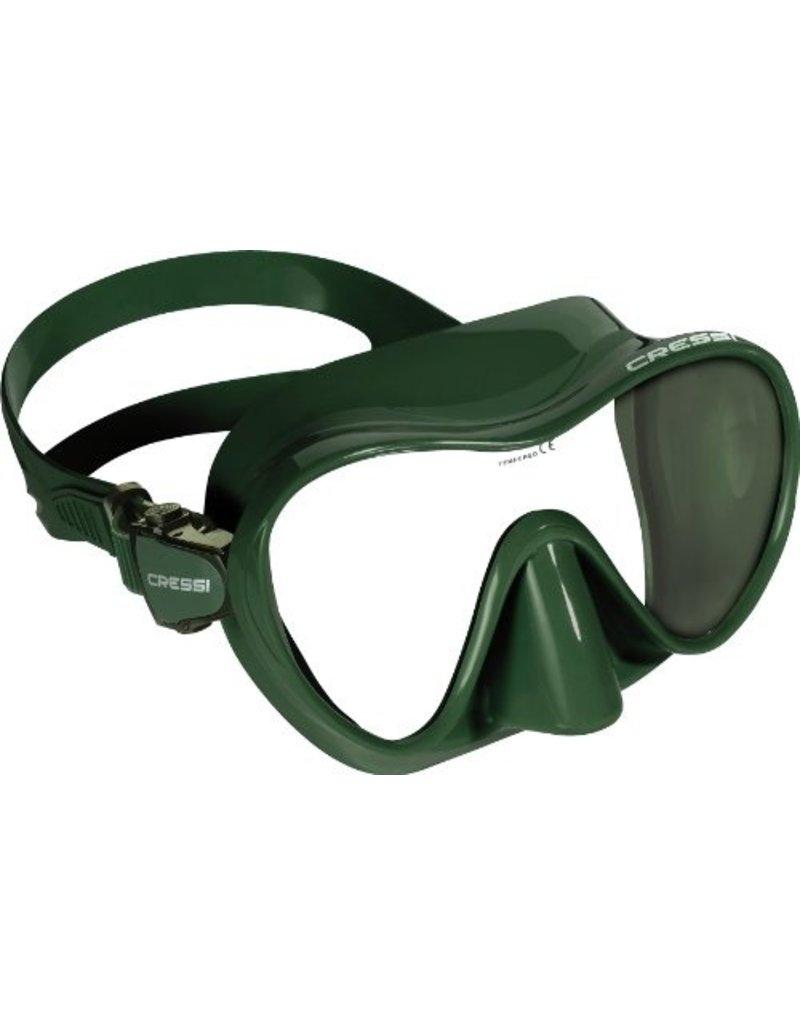 Cressi Cressi Frameless Mask Green