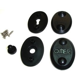 Omer Omer Wetsuit Replacement Clips- Sold as a Set for One Side (You will need to purchase two sets to replace all clips on one wetsuit)