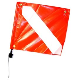 Rob Allen Rob Allen Hard Float Flag with adapter and pole