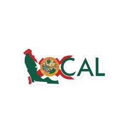 local Local FL Vinyl Decal Half Mast