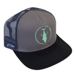Descent Descent Icon Black/Charcoal/Mint Flat Hat