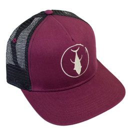 Descent Descent Icon Maroon/Black/Stone Flat Hat