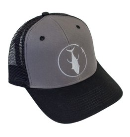 Descent Descent Icon Black/Charcoal/Grey Curved Hat