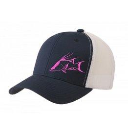 Inletville Inletville Pink Hog Trucker Hat