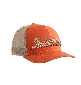 Inletville Inletville Logo Orange Mesh Hat