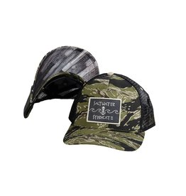 Saltwater Syndicate Wave Patch Trucker - Camo