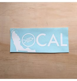 "Local Florida Freedivers Local Brand 10"" Decal"