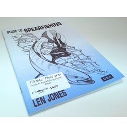 The Guide To Spearfishing by Len Jones covers everything from proper water entry, to tying your own speargun bands, to hunting techniques. This book is really great and features illustrations on every page. The book even gets into fish indentification tra