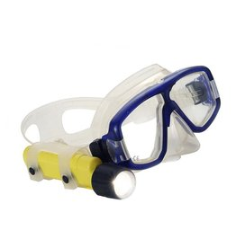 Mini Q40 Yellow <br>The high intensity Mini Q40 is lightweight enough to attach to your mask strap for hands free illumination of gauges and close-up marine life. It outshines many lights three times its size.<br>• 2.1 watt high brightness xenon fill