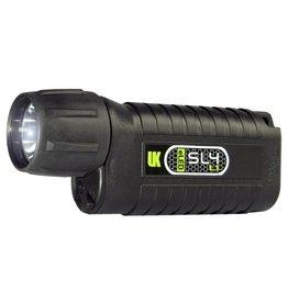 UK SL4 eLED Black Flashlight