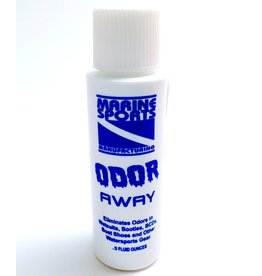 Odor-A-Way is a living bacteria concentrate. Its microbes consume & destroy organic matter like waste matter, urine, algae, bacteria and pollution. When Odor-A-Way has eaten all of the bacteria's, it expires and leaves a clean environment. The ingredients