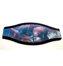 Mask Strap Cover Manatee