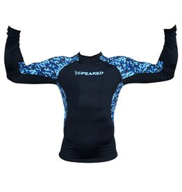 Speared Apparel Speared Camo Rash Guard