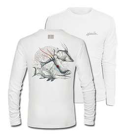 Inletville This HOGFISH design is awesome! Order yours today. It's cool, comfortable and stylish! <br> Look good and keep cool in this sporty performance crew that resists snags. <br> Key Features: <br> 100% Polyester Interlock <br> Moisture Wicking <br> Odor Resist
