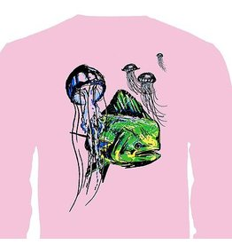 Bliss Splash Womens Pink LS