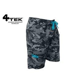 Pelagic 4Tek Shorts Fish Camo Gray