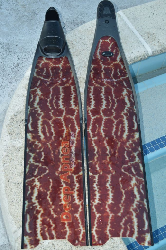 Deep Apnea S-Glass 85 cm Black Grouper Blades