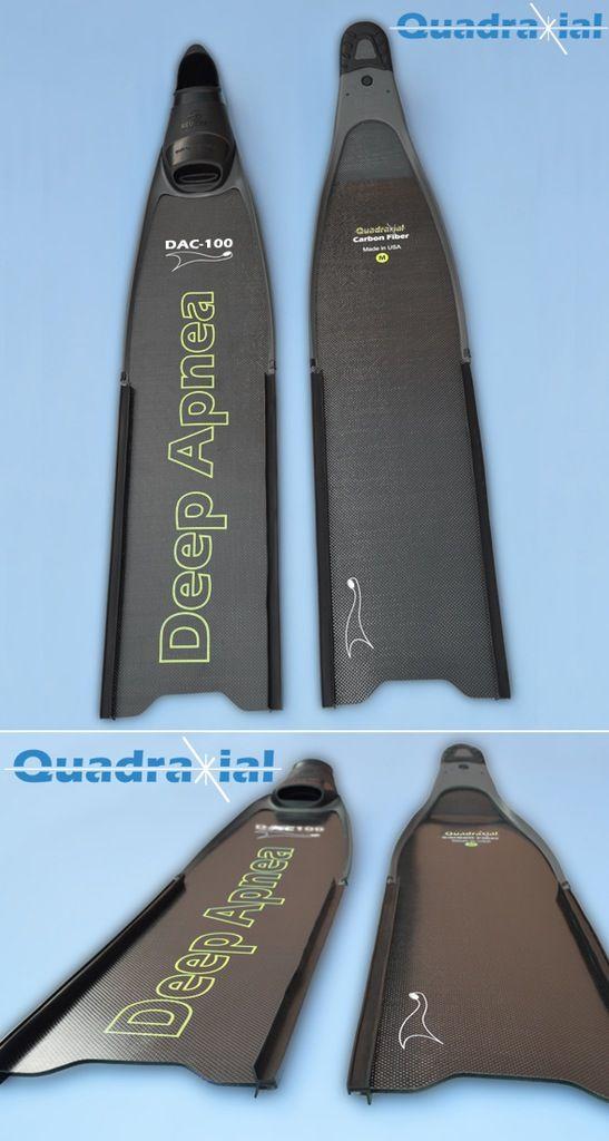 Deep Apnea Carbon Fiber Blades