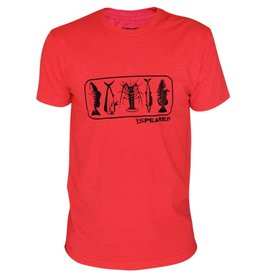 Speared Apparel This shirt is a heather red featuring some of our favorite catches.... It is awesomely comfortable though! This is your Spearfishing Shirt!, , This shirt has a slightly slimmer fit... We like to call it a slimmer-ish fit. It's not a normal fit, but it's n