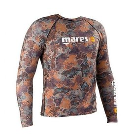 Mares Mares Brown Camo Rash Guard (Top)