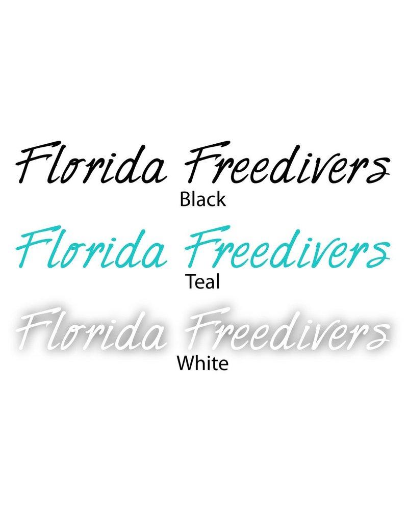 Florida Freedivers Florida Freedivers Name Sticker