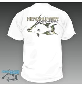Head Hunter Headhunter Hogfish Camo Spearfishing T-Shirt