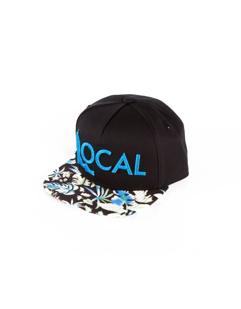 Local Local Snapback Flat Bill Hat