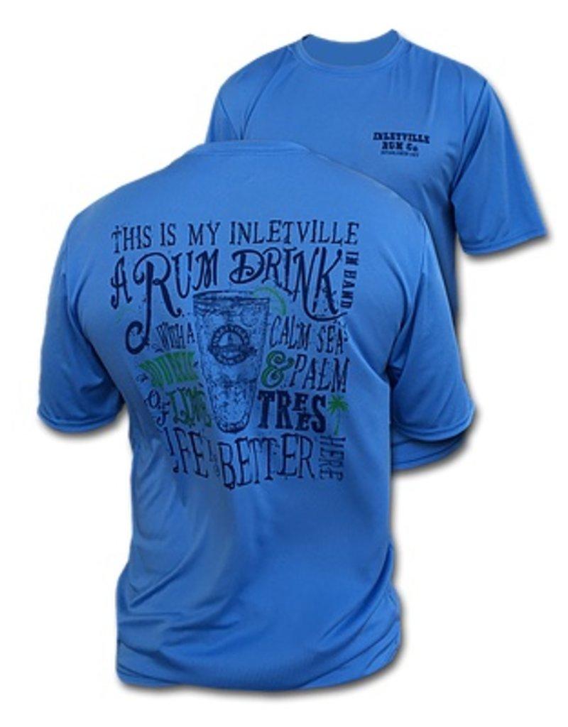 Inletville Inletville Rum Co. Short Sleeve Performance Shirt