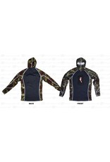 Hammerhead Hammerhead Ambush Hooded Rash Guard Blue