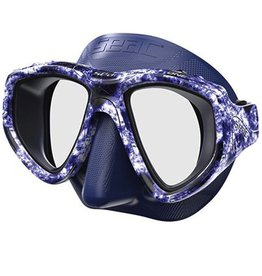 Seac Makaira One Blue Camo Mask