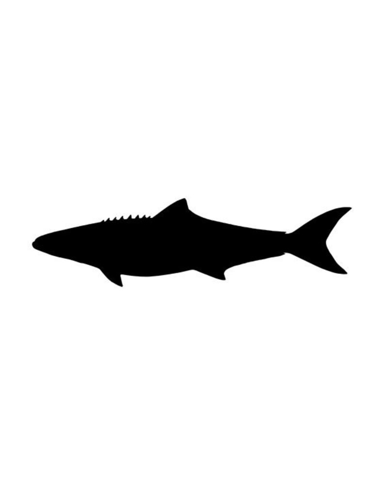 "Vinyl 3.5"" Cobia Sticker"