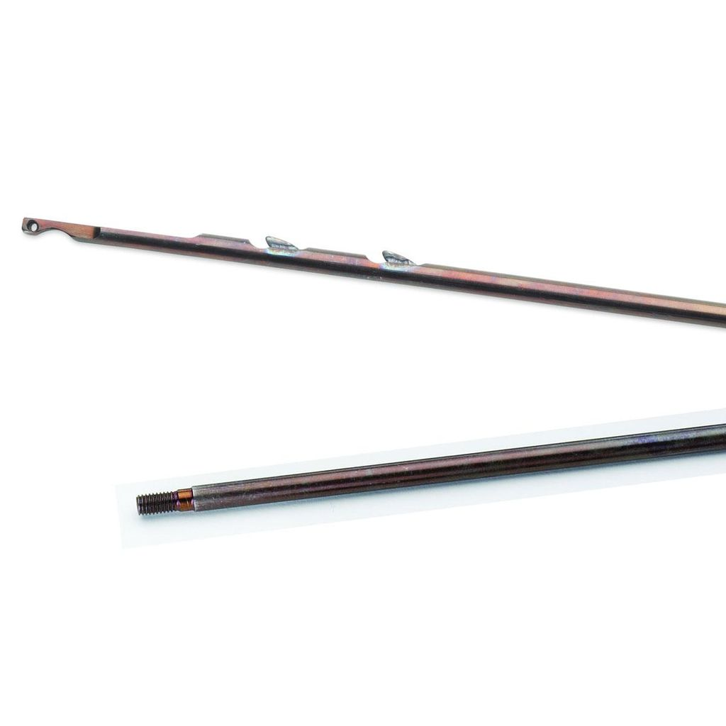 Cressi Cressi 6mm 140cm Threaded Notched Shaft