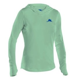 Pelagic Ultratek Hooded Sunshirt Seafoam