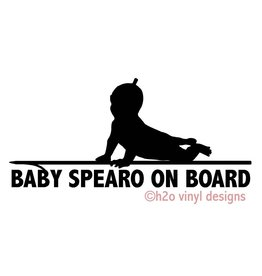 Florida Freedivers Baby Spearo on Board Sticker