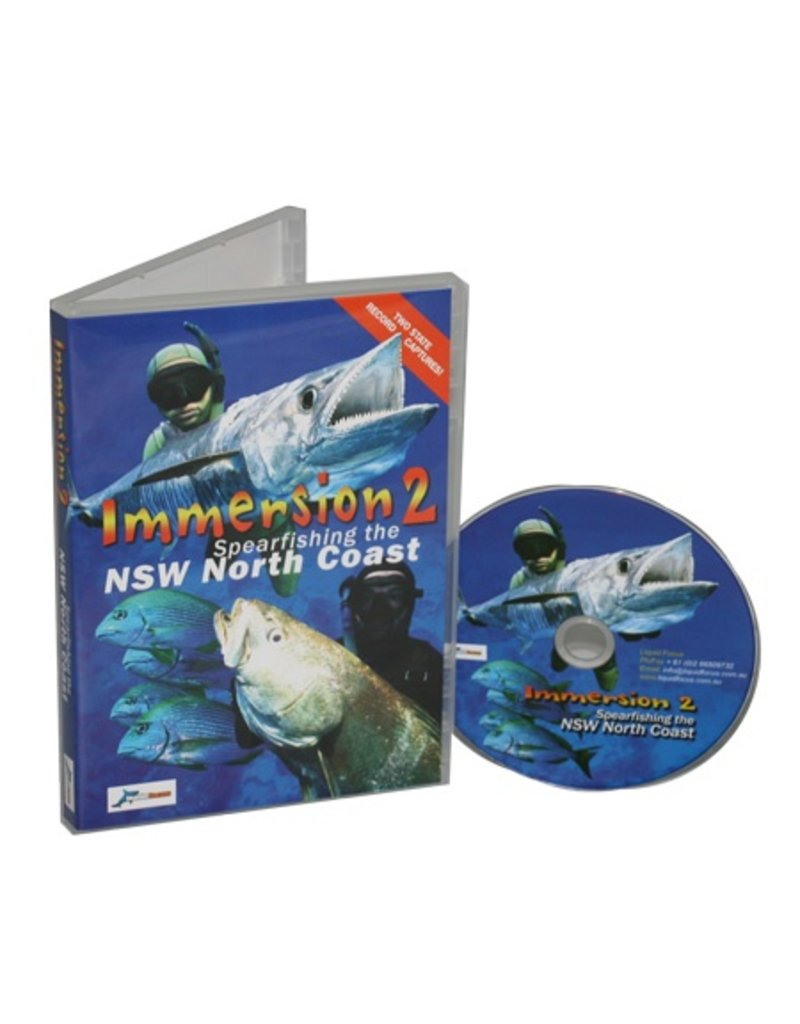 Immersion 2 Spearfishing NSW Coast DVD