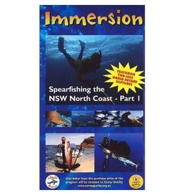 Immersion 1 Spearfishing NSW N. Coast DVD