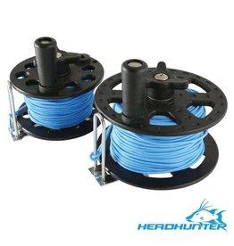 HeadHunter HeadHunter 23M/75' Reel with Blue Spectra