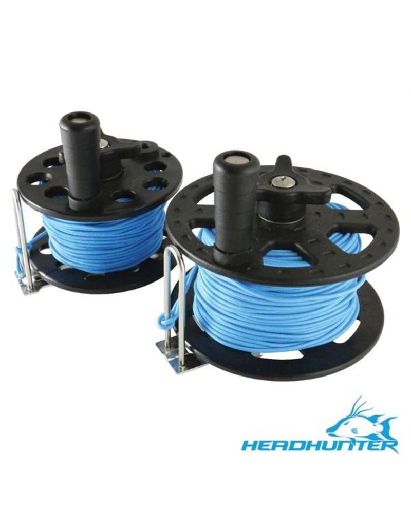 HeadHunter HeadHunter 23M/75' Reel with Blue Spectra