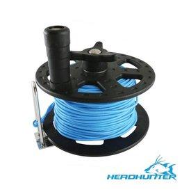 HeadHunter HeadHunter 37M/125' Reel with Blue Spectra