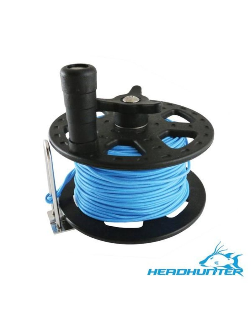 HeadHunter HeadHunter 37M/125' Reel with Blue Spectra