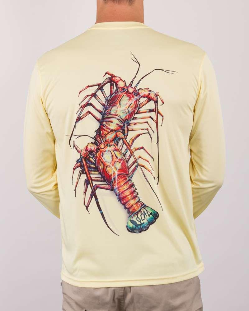 Local Local Performance Lobster Crawl Long Sleeve Shirt