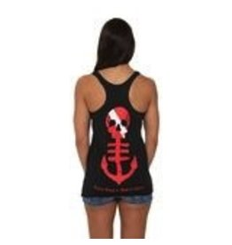 Saltwater Syndicate Saltwater Syndicate Classic Racerback Charcoal